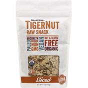 Organic Gemini TigerNut, Raw Snack, Sliced
