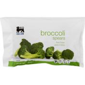 Food Lion Broccoli Spears, Fresh Frozen, Grade A Fancy, Bag