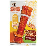 Nylabone Pepperoni Pizza Flavor Frenzy Strong Chew Toy Dog Toy