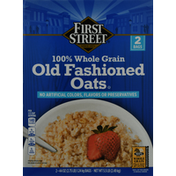 First Street Oats, Old Fashioned, 100% Whole Grain