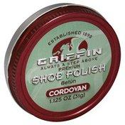 Griffin Shoe Polish, Premium, Cordovan