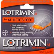 Lotrimin Clotrimozole Cream, for Athlete's Foot, Antifungal