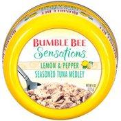 Bumble Bee Seasoned Lemon & Pepper Sensations Tuna Medley