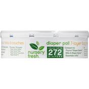 Nursery Fresh Diaper Pail Refills, 7-Layer Bag Refills