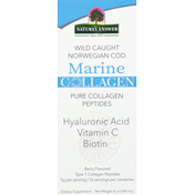 Nature's Answer Marine Collagen, Berry Flavored