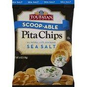 Toufayan Pita Chips, Sea Salt