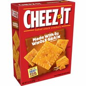 Cheez-It Cheese Crackers, Baked Snack Crackers, Made with Whole Grain