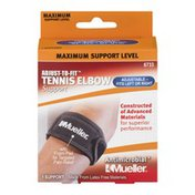 Mueller Antimicrobial Tennis Elbow Support Adjust-To-Fit Maximum Support - 1 CT