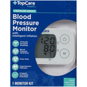 TopCare Premium Wrist Blood Pressure Monitor
