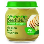 Beech-Nut Harvest Dinners Chicken, Pear & Zucchini