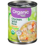 Great Value Chicken Wild Rice Soup