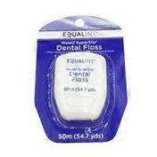 Equaline Waxed SuperSlip Dental Floss