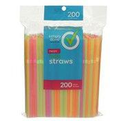 Simply Done Neon Flexible Straws