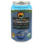 Aqua ViTea Blueberry Social,  Probiotic, Kombucha