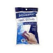 Domestix Vinyl Supreme Clean Disposable Gloves
