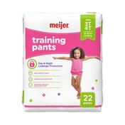 Meijer Training Pants Girl 3T/4T
