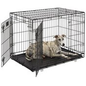 """Midwest 1636DD 36"""" x 24"""" x 27"""" Life Stages Double Door Dog Crate"""
