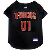 "Pet First 23"" x 30"" Extra Large MLB Arizona Diamondbacks Baseball Jersey Dog Shirt"
