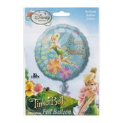 "Anagram Foil Balloon 18"" Disney Fairies TinkerBell Happy Birthday"