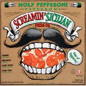 Screamin' Sicilian Pizza, Holy Pepperoni