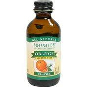 Frontier Natural Products Co-op Frontier Orange Flavor