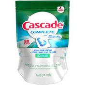 Cascade Complete with Extra Bleach Action Fresh Scent ActionPacs Dishwasher Detergent