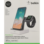 Belkin Charge Dock, for Apple Watch + iPhone