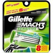 Gillette Mach3 Sensitive Razor Cartridges