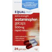 Equaline Extra Strength Acetaminophen Gelcaps