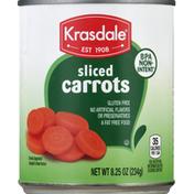 Krasdale Carrots, Sliced
