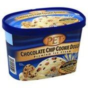 Pet Ice Cream, Premium, Chocolate Chip Cookie Dough
