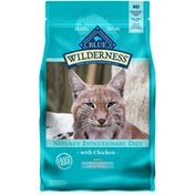 Blue Buffalo Wilderness High Protein, Natural Adult Indoor Hairball Control Dry Cat Food, Chicken