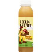 Field + Farmer Juice Drink, Cold-Pressed, Lemon Apple