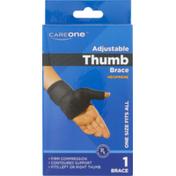 CareOne Adjustable Thumb Brace