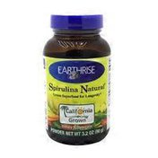 Earthrise Spirulina Natural, Powder
