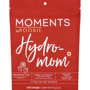 Moments by Boobie Superfood Electrolyte Drink Mix, Strawberry Kiwi