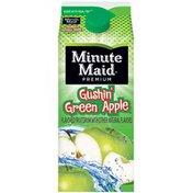 Minute Maid Gushin' Green Apple Flavored Fruit Drink