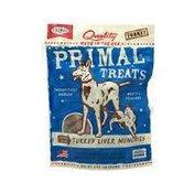 Primal Pet Foods Turkey Liver Munchies 2 Oz