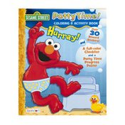 Bendon Sesame Street Coloring & Activity Book Potty Time!