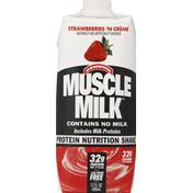 CytoSport Muscle Milk Nutritional Shake, Strawberries 'N Creme