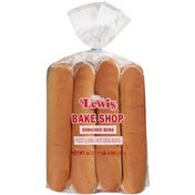 Lewis Bakeries Bake Shop Foot Long Hot Dog Buns