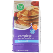 Food Club Buttermilk Complete Pancake & Waffle Mix