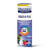 Mucinex® Children's Cold, Cough, & Sore Throat  Liquid, Mixed Berry (Packaging May Vary)