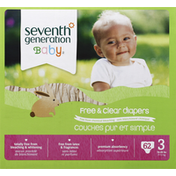 Seventh Generation Diaper Spring Jumbo Stage 3