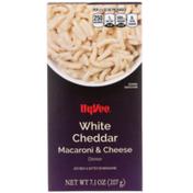 Hy-Vee White Cheddar Macaroni & Cheese Dinner