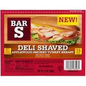 Bar-S Deli Shaved Applewood Smoked Turkey Breast