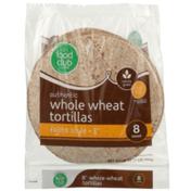 Food Club Whole Wheat Fajita Style Tortillas