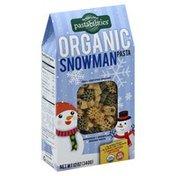 Pastabilities Pasta, Organic, Snowman + Snowflake Shaped