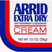 Arrid Anti-Perspirant & Deodorant, Cream