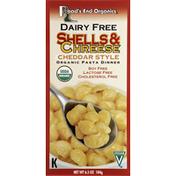 Road's End Organics Shells & Chreese, Cheddar Style